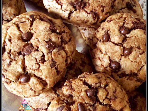 Ricetta Cookies Con Poco Burro.Biscotti Cookies Senza Burro