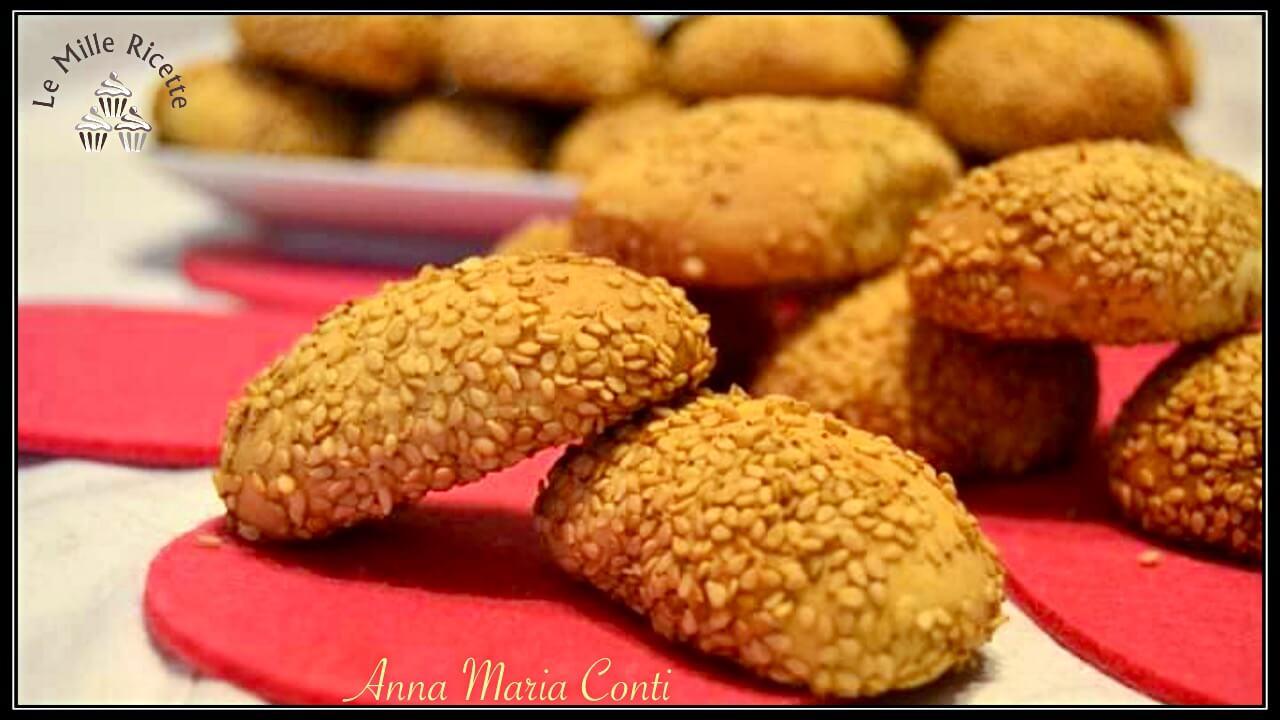 Biscotti reginelle,biscotti reginelle al sesamo,biscotti reginelle siciliane