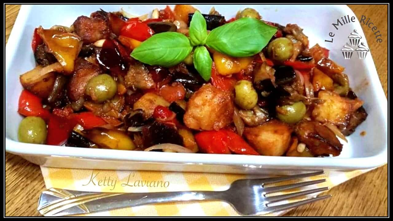Caponata Catanese In Padella, Il Contorno PiÙ Gustoso Dell'estate