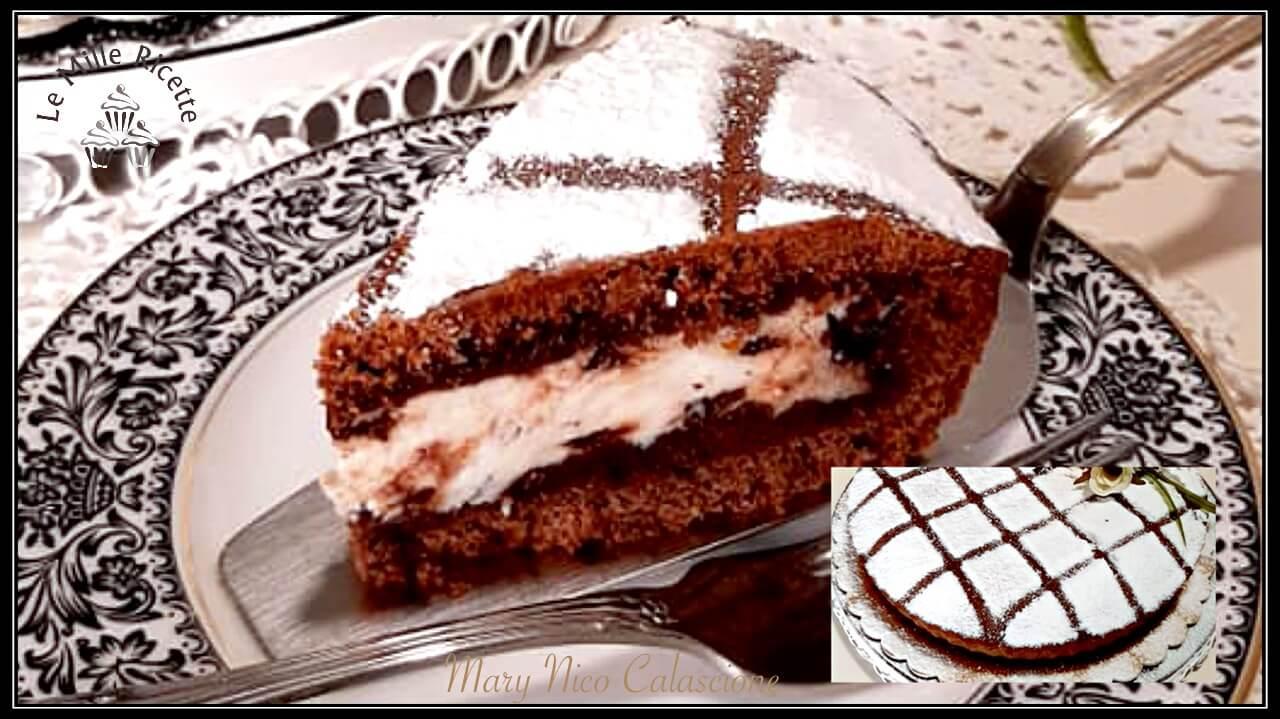 Cassata Al Forno Variante Ancora Piu Golosa Al Cioccolato