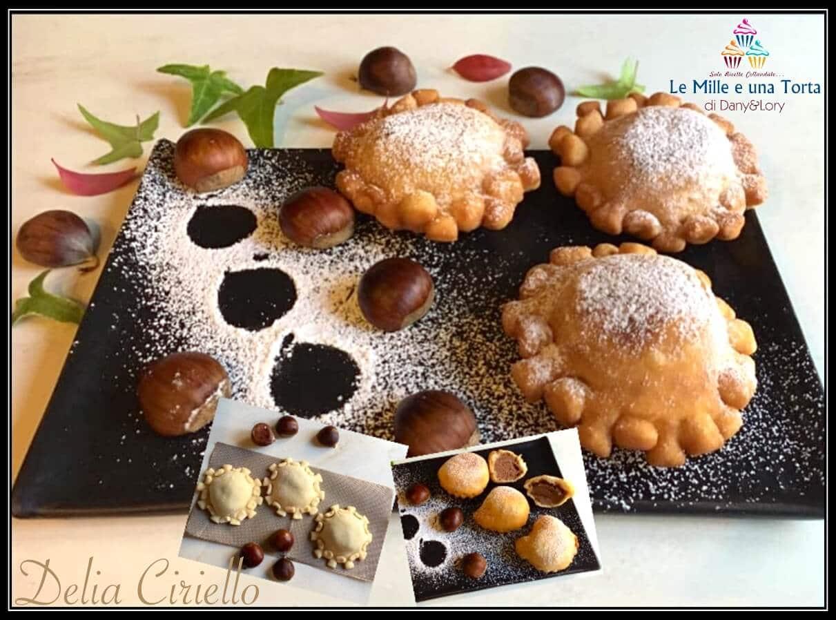 I Dolci Natalizi Napoletani.Castagnacci Napoletani Dolcetti Natalizi Ripieni Di Castagne E Cioccolato