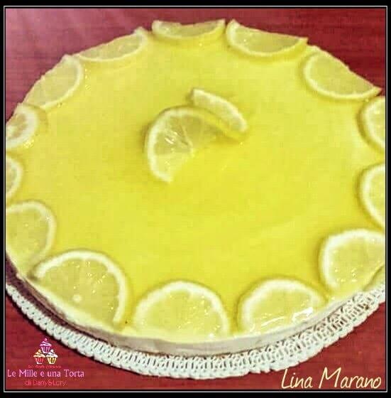 Cheesecake Al Limone Dessert Fresco E Goloso 2