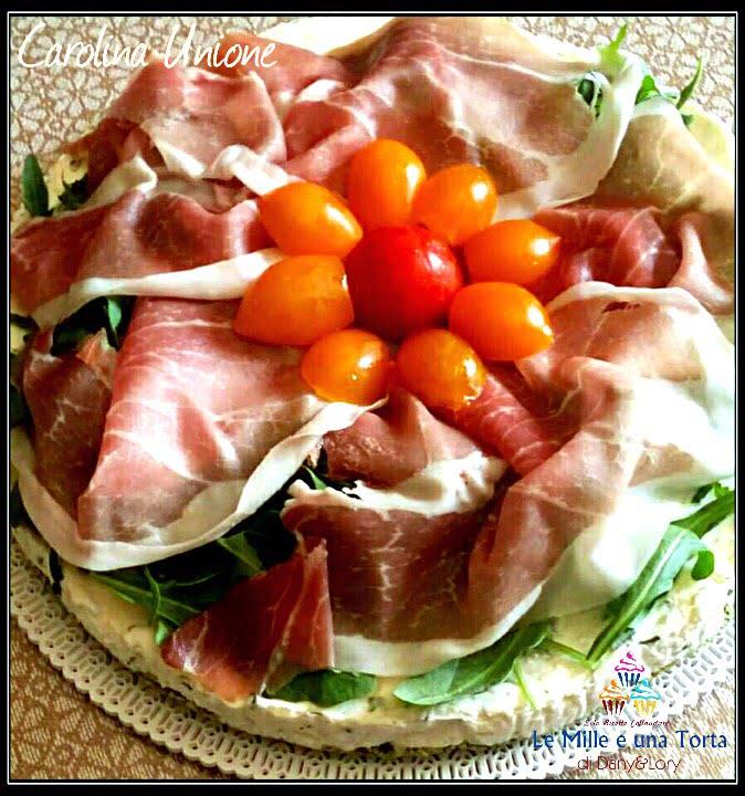 Cheesecake Salata Con Prosciutto Crudo E Rucola Senza Cottura 2
