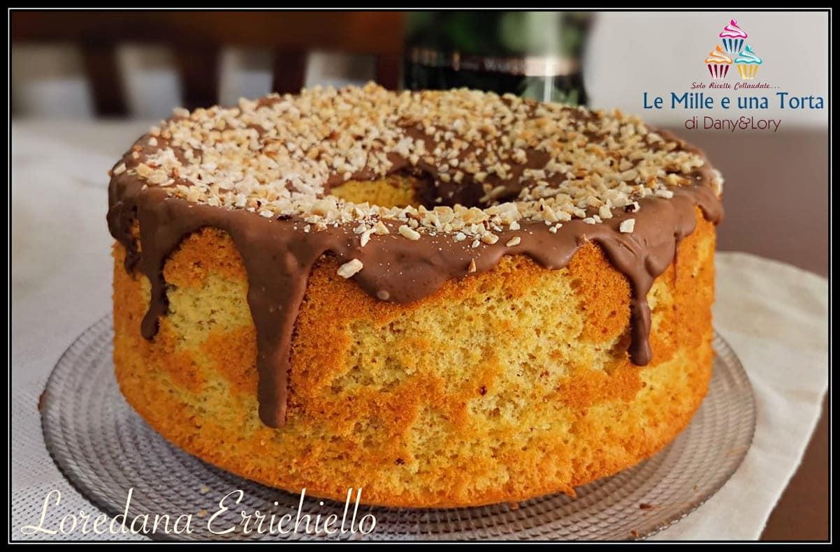 Chiffon Cake Al Cioccolato E Nocciole Riciclare Uova Di Pasqua 2