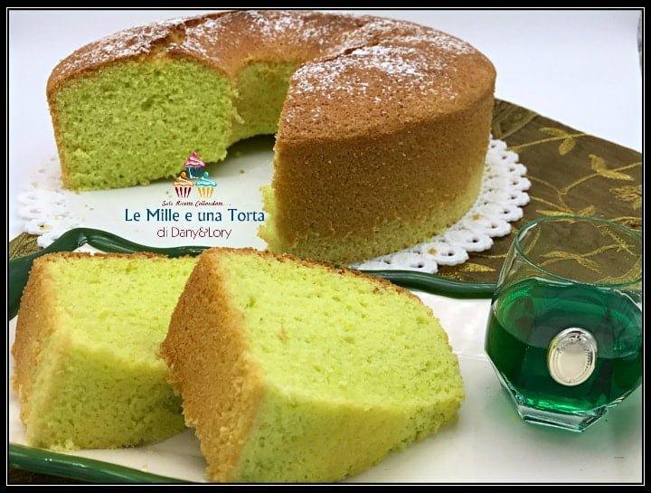 Chiffon Cake Alla Menta Il Ciambellone Americano Dellestate 2