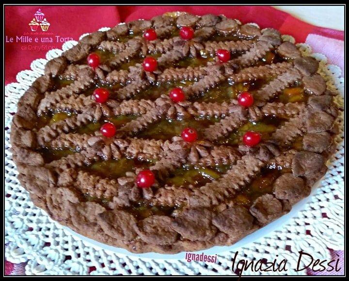 Crostata Al Cioccolato Con Marmellata Di Arance Friabile E Golosa 2