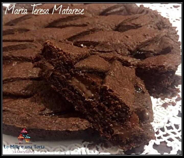 Crostata Alla Nutella Con Pasta Frolla Al Cacao Di Luca Montersino 2