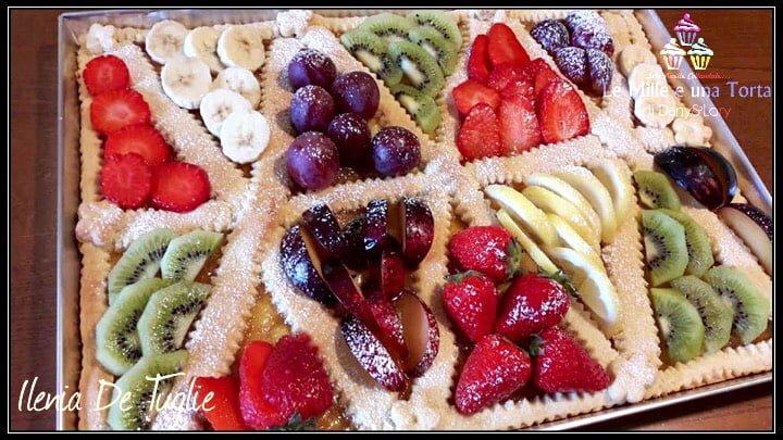 Crostata Con Marmellata Di Albicocche E Frutta Fresca 2