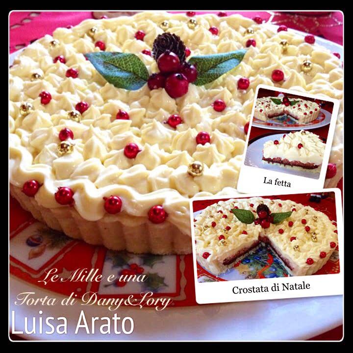 Crostata Di Natale Bianca E Rossa 2