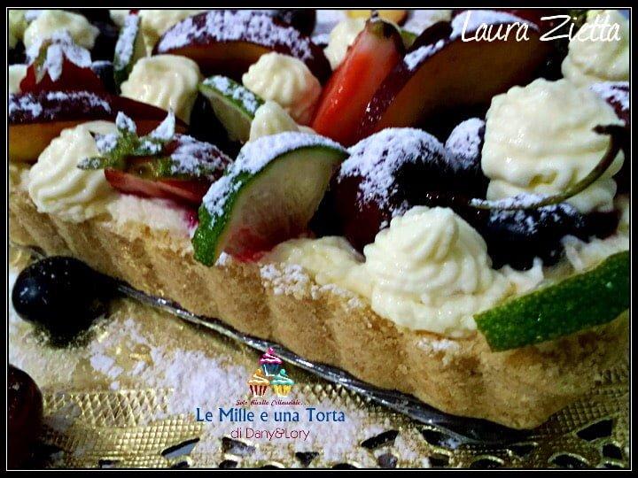 Crostata Fredda Con Camy Cream E Frutta 2