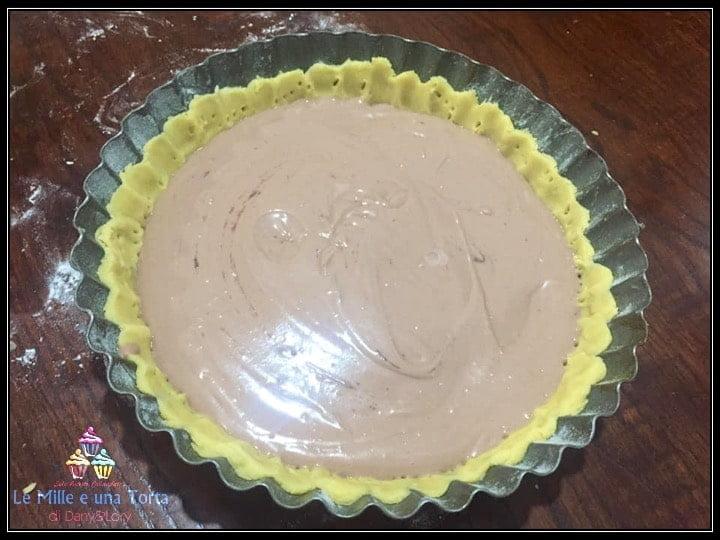 Crostata Golosa Ripiena Con Crema Di Ricotta Ai Cioccolatini Preparazione 2 1