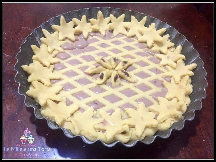 Crostata Golosa Ripiena Con Crema Di Ricotta Ai Cioccolatini Preparazione 3 1