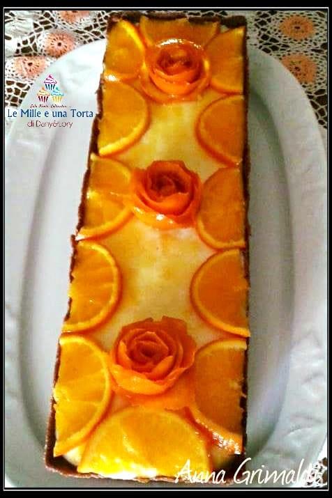 Crostata Senza Cottura Al Profumo Di Arancia 2