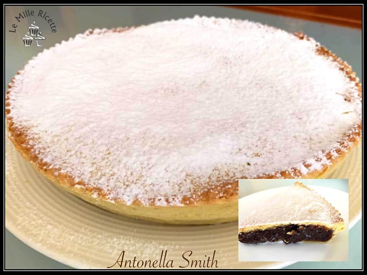 crostata cioccolato,crostata con crema al cioccolato,ricetta crostata al cioccolato,crostata al cioccolata,Crostata al cioccolato