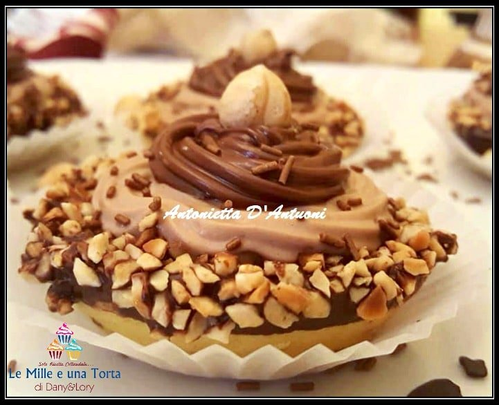 Crostatine Alla Nutella Con Crema Al Cioccolato Ricetta Bimby 2