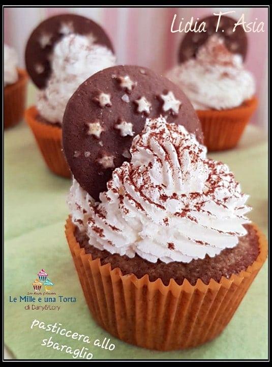 Cupcake Dolce Veloce Con Panna E Pan Di Stelle 3