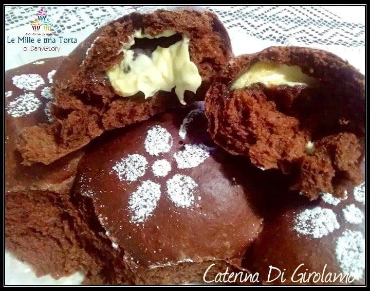 Danubio Dolce Soffice Impasto Al Cacao Con Ripieno Di Cioccolato Bianco E Nutella 3