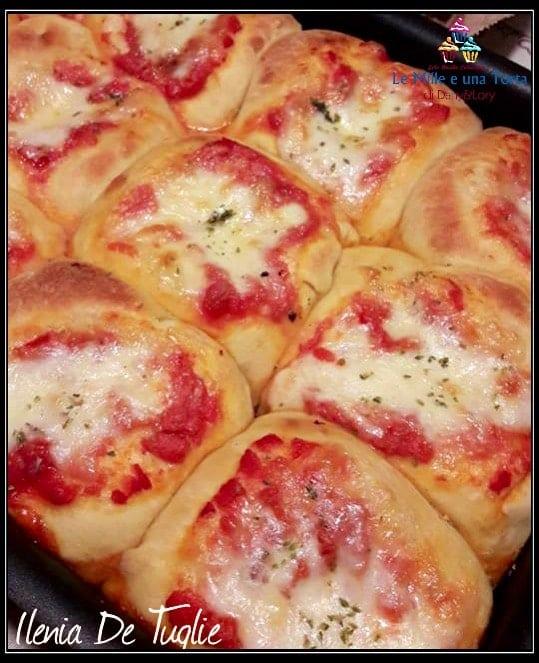 Danubio Salato Versione Pizzetta Margherita 2