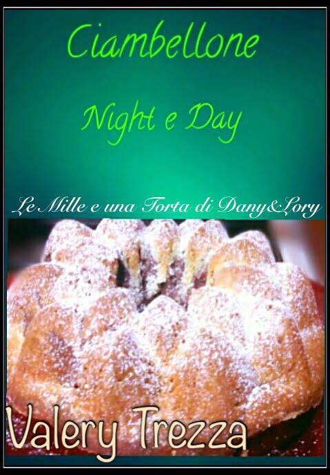 CIAMBELLONE NIGHT & DAY, SENZA BURRO
