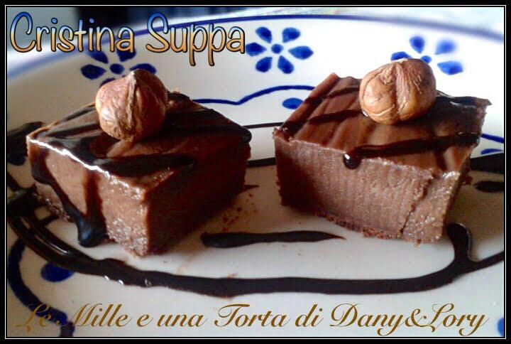 TORTA MAGICA NUTELLA E CACAO