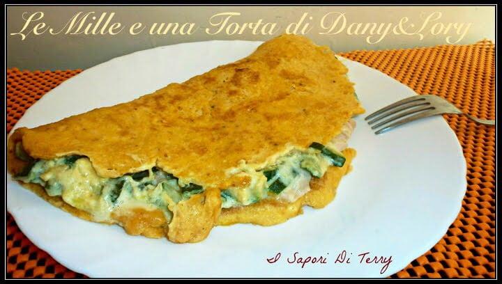 Omelette Ricetta Ripieno.Omelette Ripiena Di Zucchine Cotto E Philadelphia