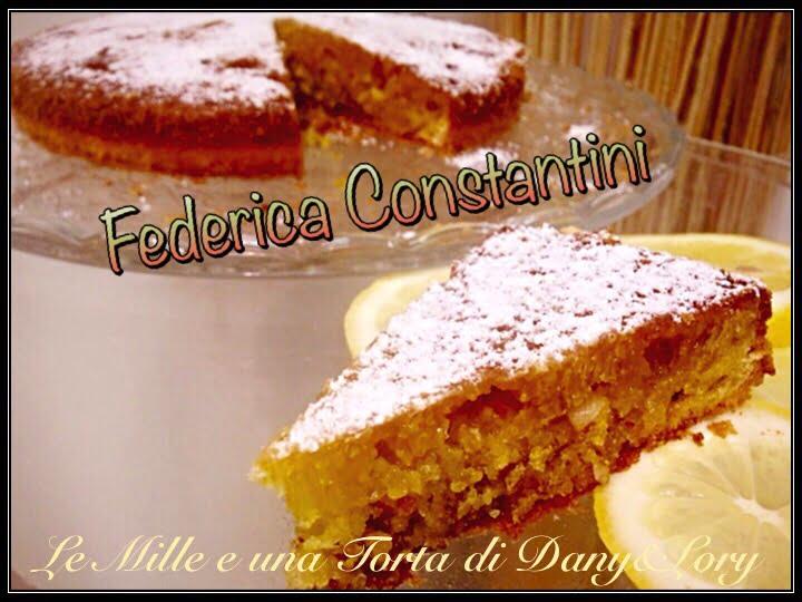 TORTA CAPRESE AL LIMONE SENZA BURRO