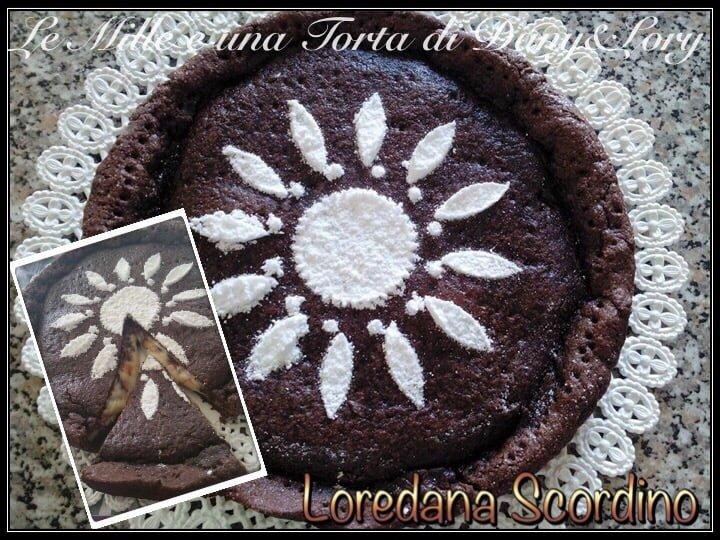 TORTA DI FROLLA CON CUORE MORBIDO MASCARPONE E NUTELLA