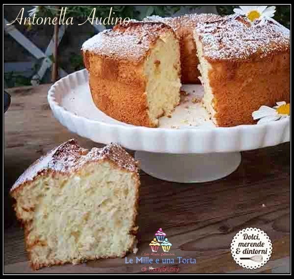 ANGEL CAKE ALL'ARANCIA