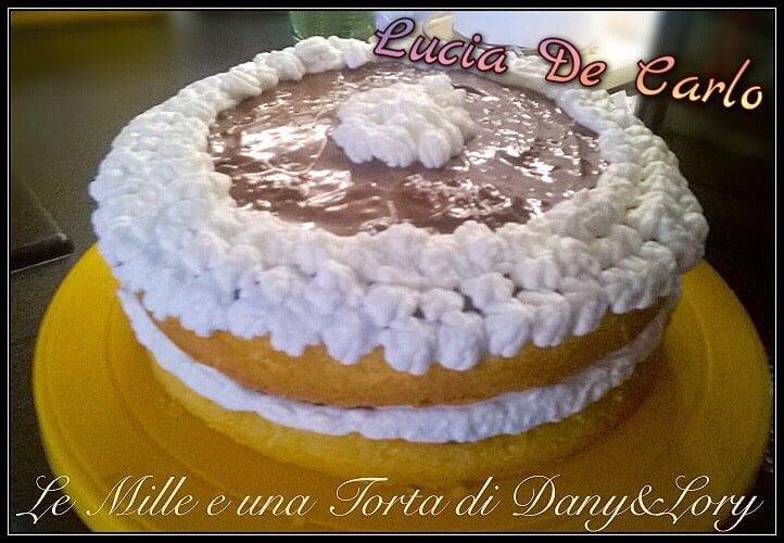 SPONGE CAKE NUTELLA E CREMA CHANTILLY