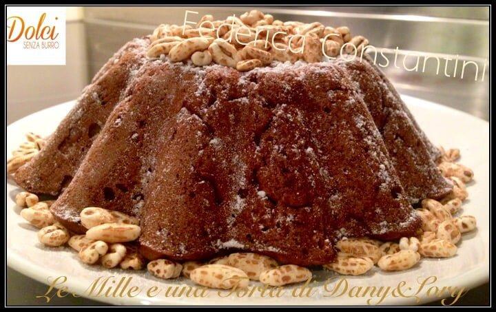 Torta cacao e orzo- senza uova e senza lattosio