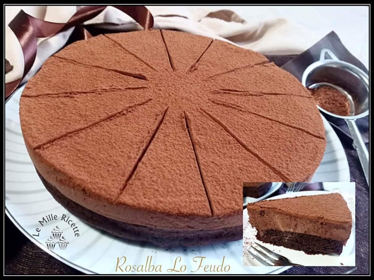 Torta al cioccolato,chocolate landeau,landeau,CHOCOLATE,LANDEAU CHOCOLATE