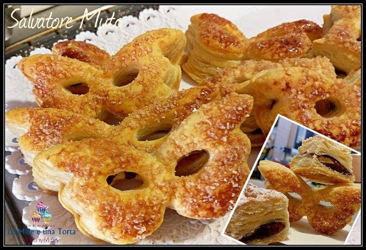 Maschere Di Carnevale Pasta Sfoglia Con Nutella 2