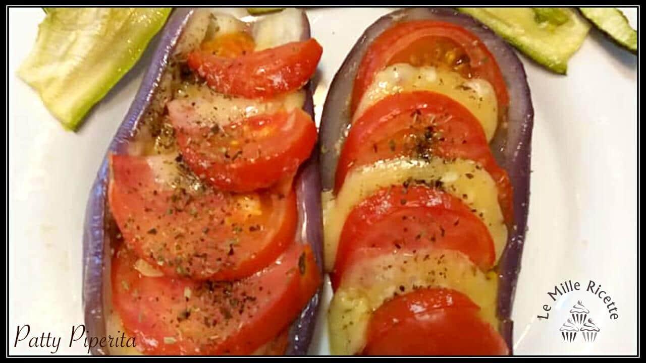 Melanzane Ripiene Vegetariane Alla Caprese Semplicissime Da Fare