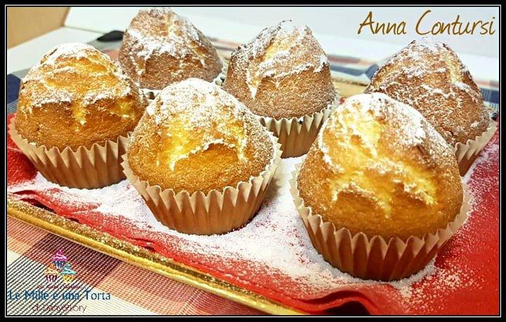 Muffin Allo Yogurt Greco E Vaniglia Ricetta Con E Senza Bimby 2