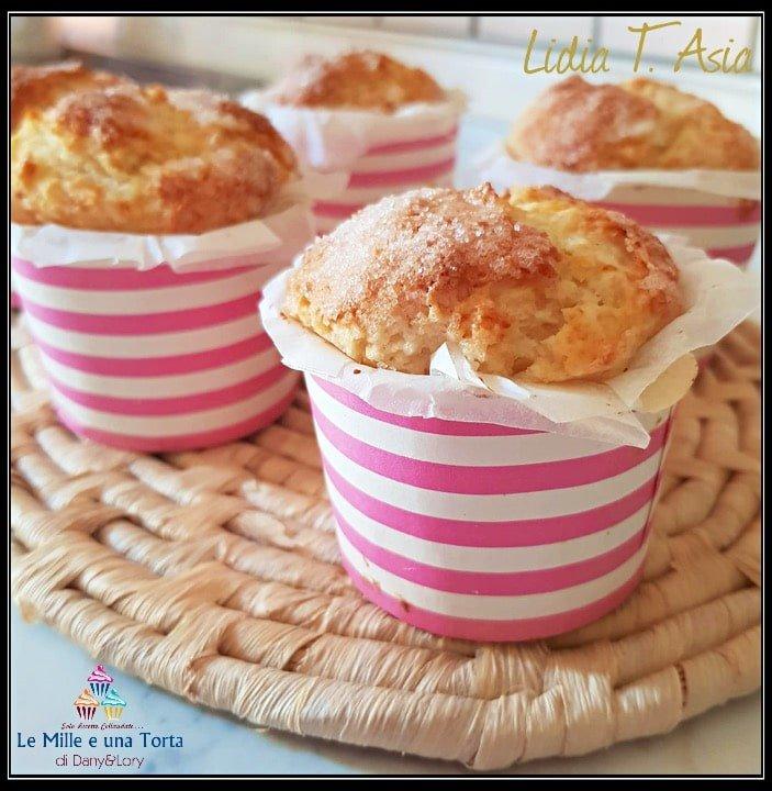 Muffin Allo Yogurt Pronti In 5 Minuti Senza Burro E Senza Lievito Chimico 2