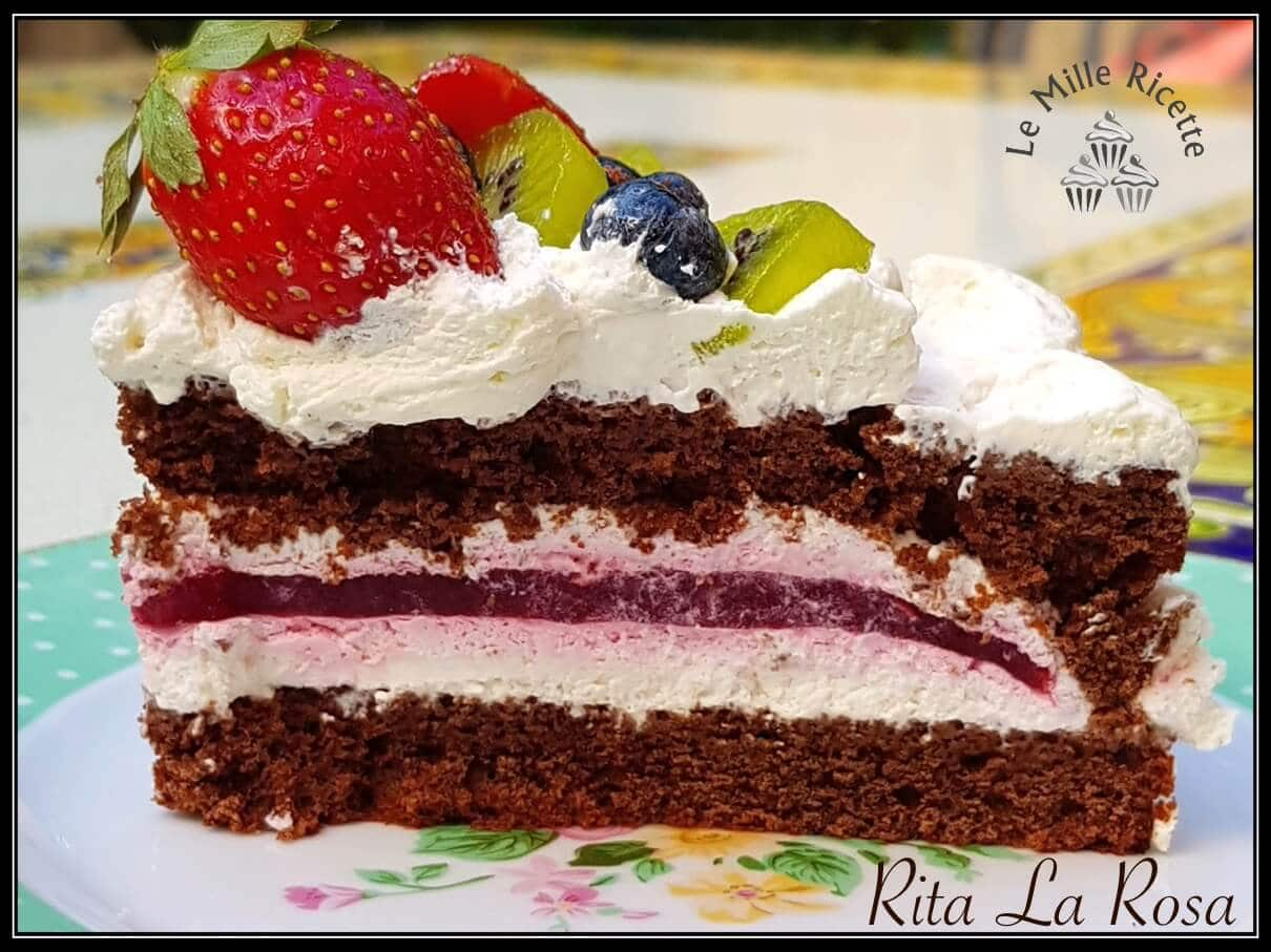 NAKED CAKE SENZA GLUTINE al CIOCCOLATO FONDENTE