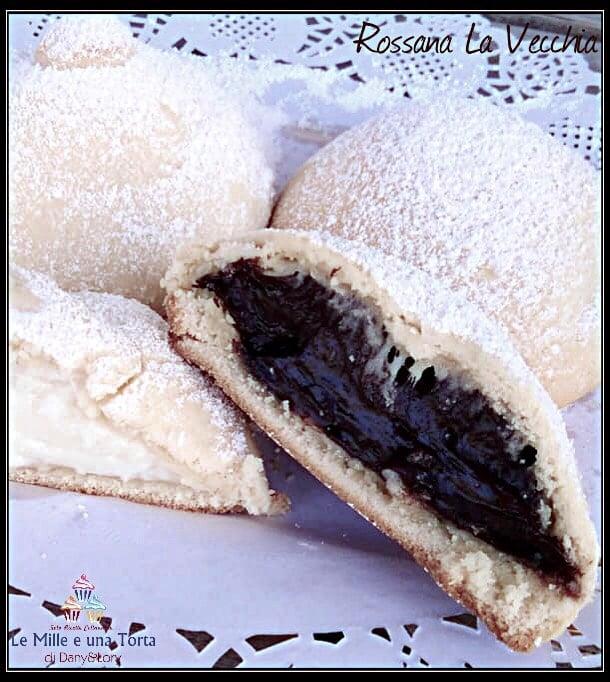 Panzerotti Catanesi Con Crema Al Cioccolato E Crema Bianca 2