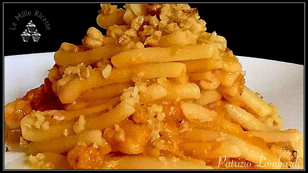 Ricetta Gnocchi Zucca E Pancetta.Pasta Con Crema Di Zucca Pancetta E Noci Delizia Autunnale