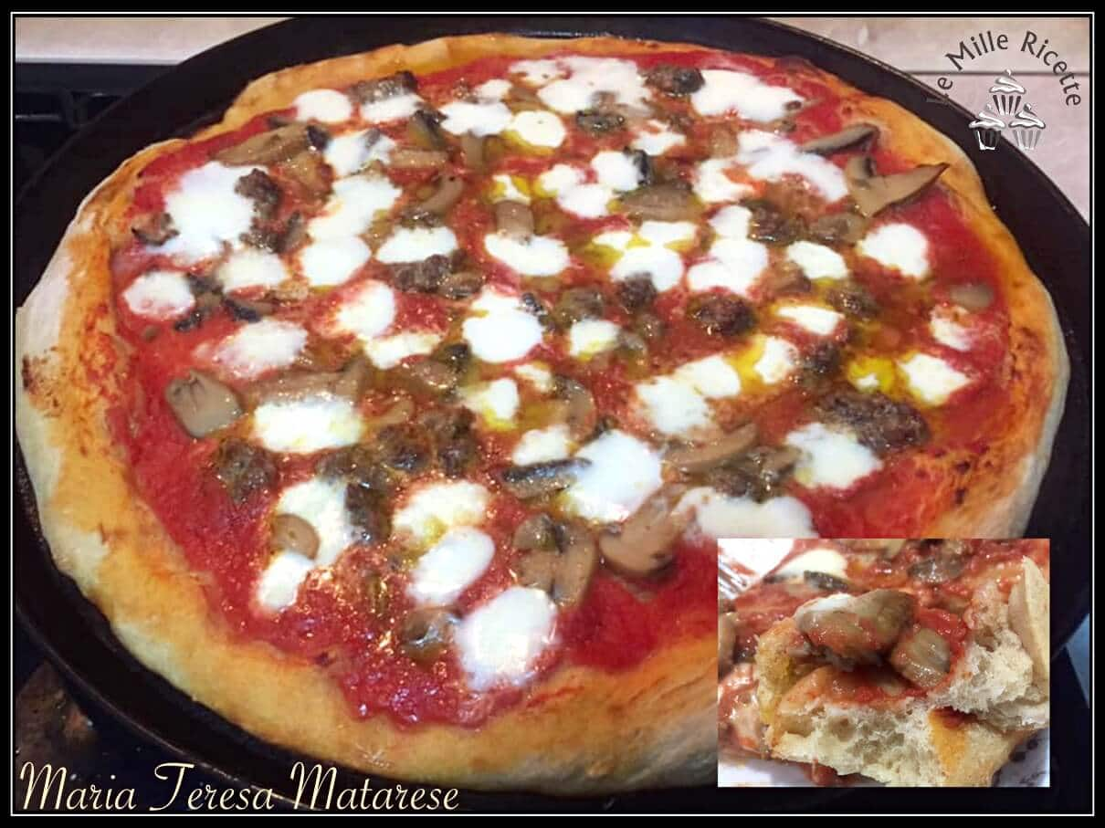 Ricetta Impasto Pizza Digeribile.Pizza Fatta In Casa Impasto Leggerissimo Come In Pizzeria Ancor Piu Digeribile