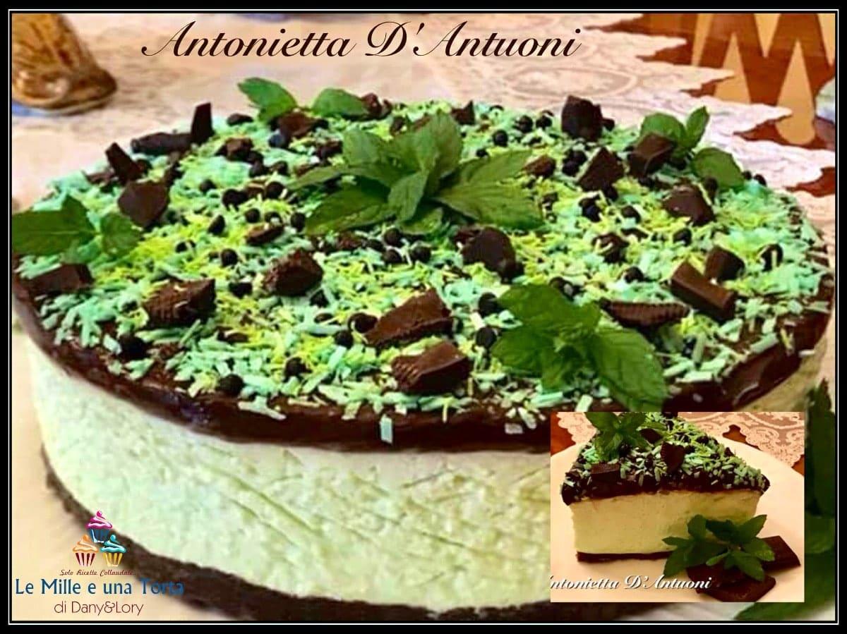 Ricetta Cheesecake Gusto Menta E Cioccolato Senza Gelatina 2