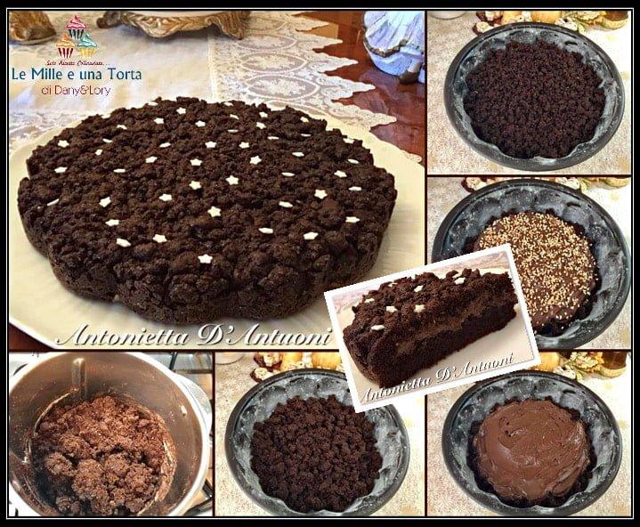 Sbriciolata Alla Nutella Con Frolla Al Cacao E Granella Di Nocciola Ricetta Bimby 2