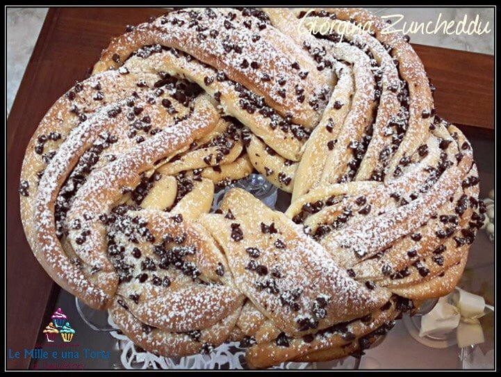Torta Angelica Al Burro Con Gocce Di Cioccolato 1 2
