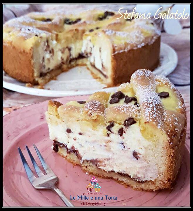Torta Con Cuore Morbido Di Ricotta Cioccolato E Nutella 2