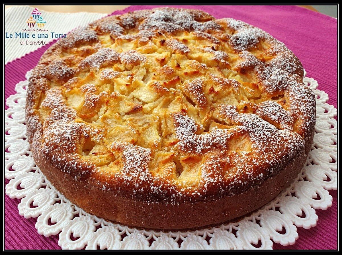 Torta Di Mele E Latticello Al Limone Una Vera Leccornia 2 2
