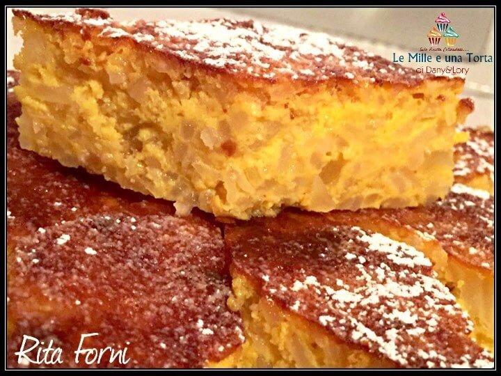 Torta Di Riso Dolce Tipico Dellemilia Romagna 2