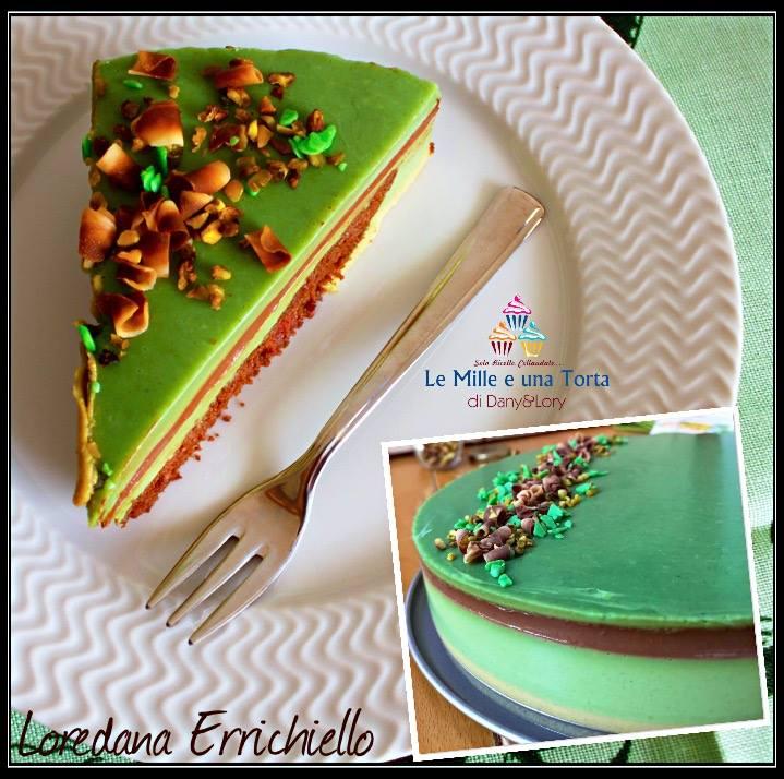 Torta Fredda Al Pistacchio Con Goloso Inserto Al Cioccolato 2