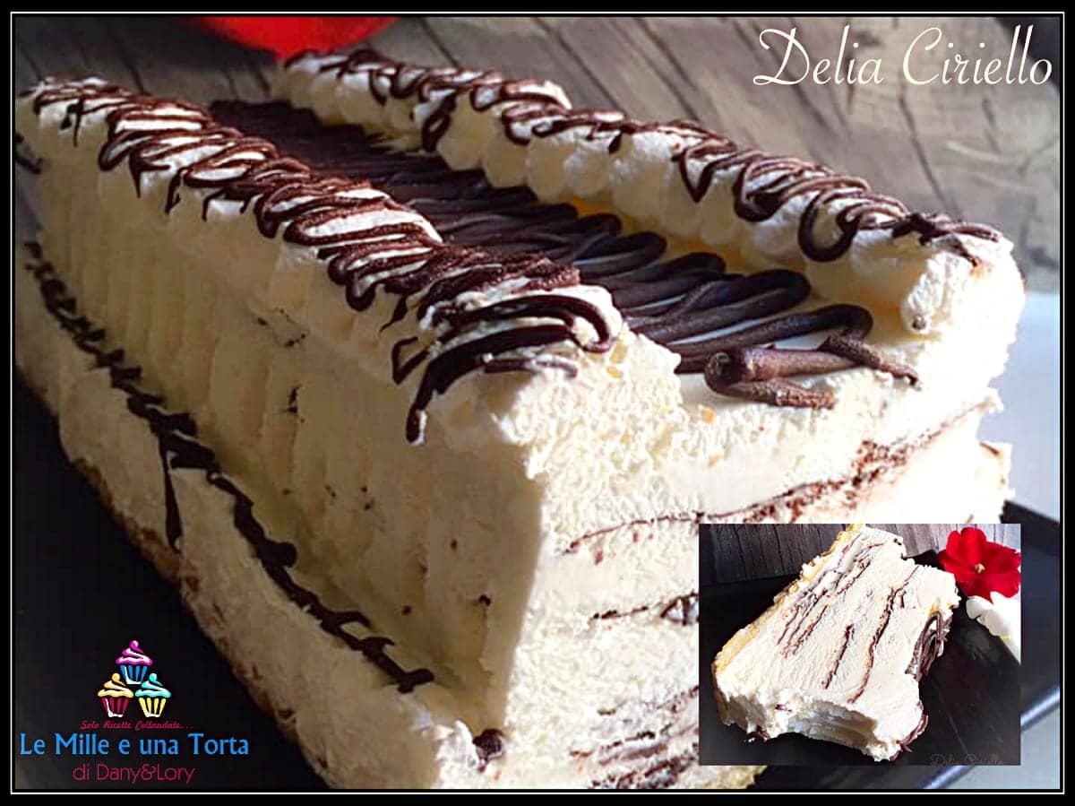 Viennetta,Ricetta torta gelato,Torta gelato ricetta,Torta gelata ricetta,Torta gelato