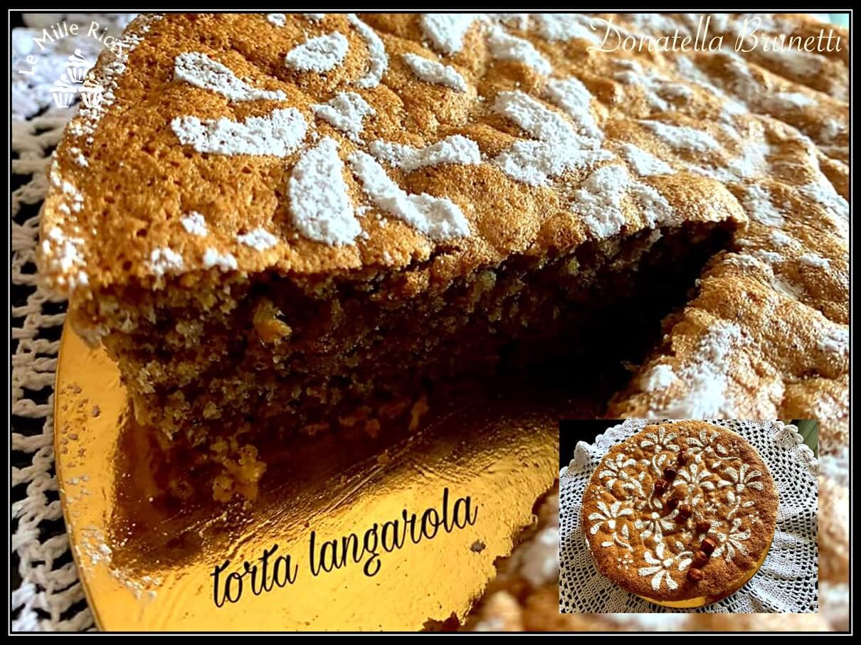 Torta langarola di nocciole,Torta langarola
