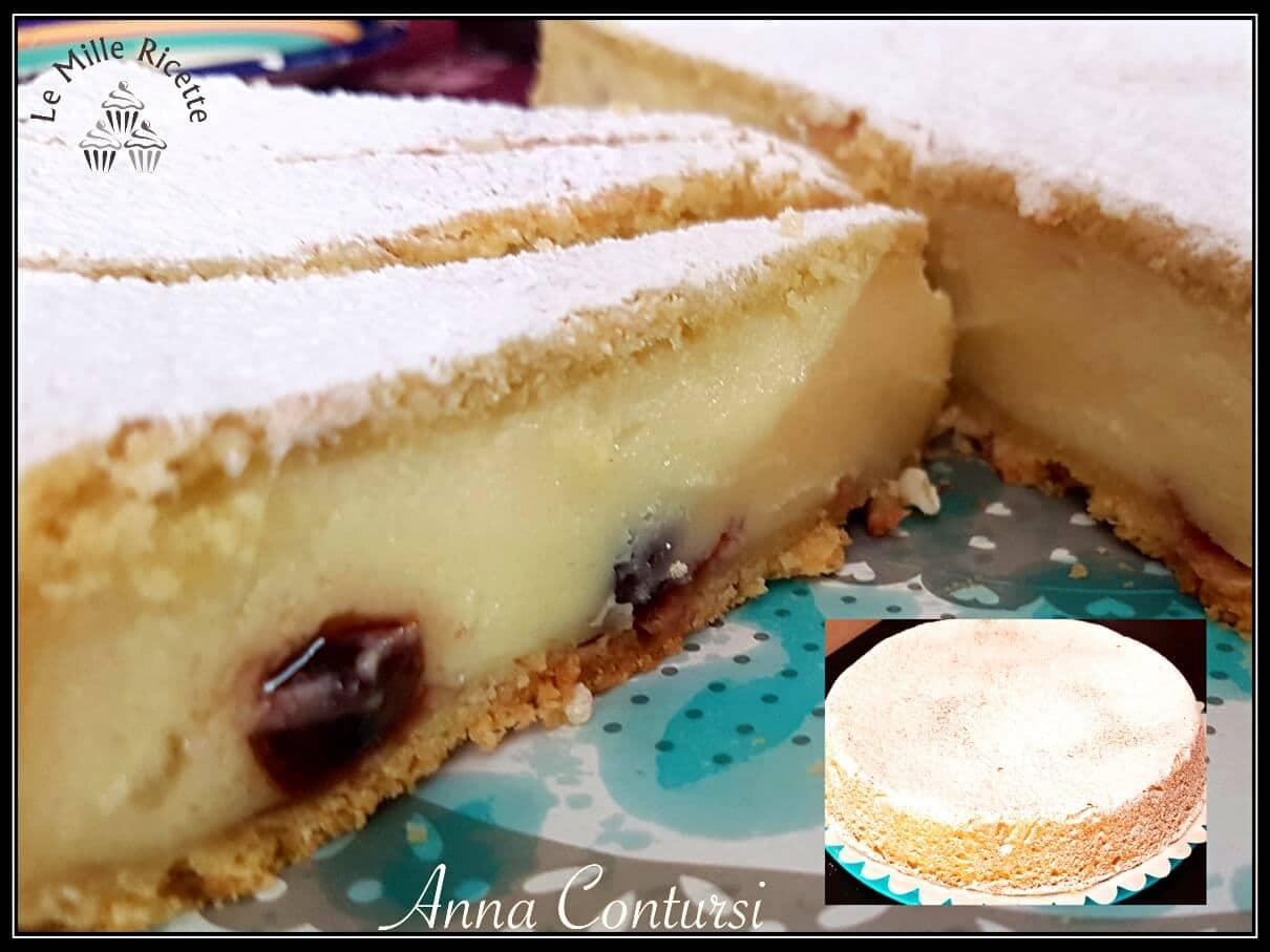 torta pasticciotto,torta pasticciotto bimby,pasticciotto,ricetta pasticciotto,Torta pasticciotto leccese