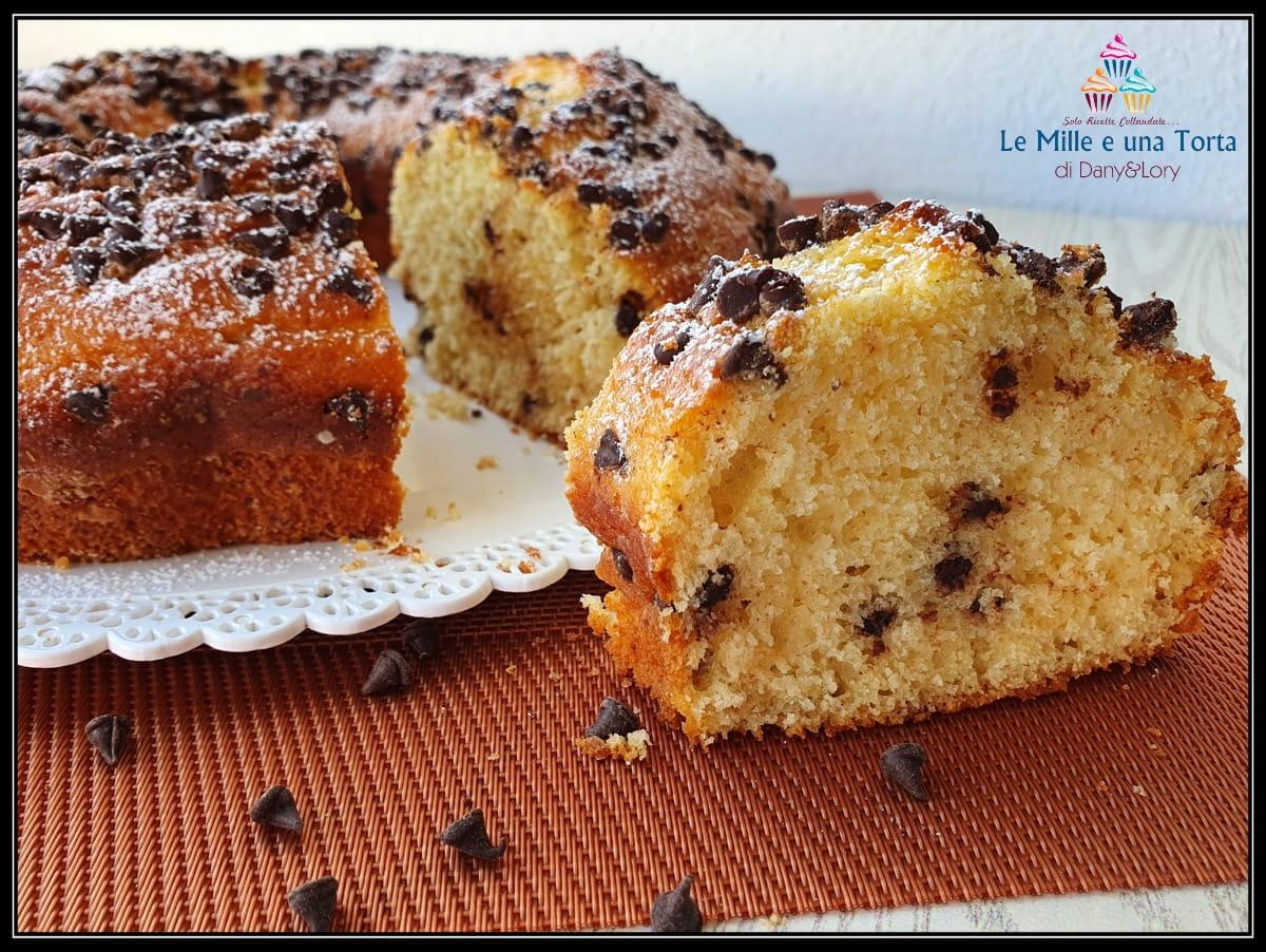 Torta Ricotta E Cioccolato Dolce Veloce E Facilissimo Da Preparare 2